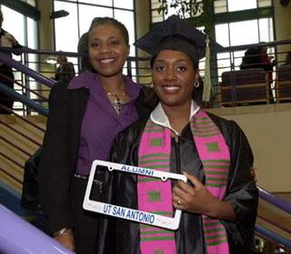 African-American UTSA graduate