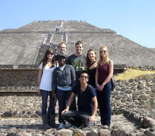 UTSA students abroad