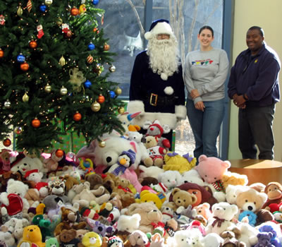 Care Bears at Giving Tree