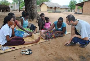 Christian Porter in Africa