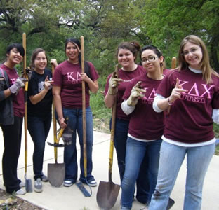 Salado Creek cleanup