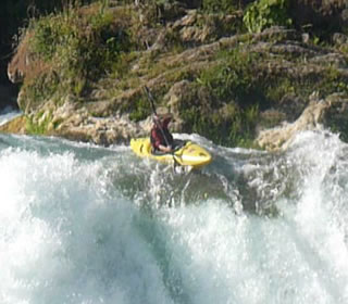 whitewater kayaking in Mexico