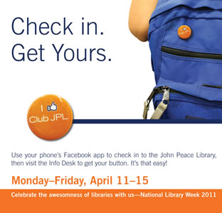 library week button