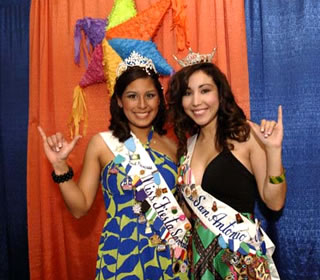 Miss Fiesta First Princess and Miss San Antonio