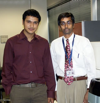 Ashlesh Murthy and Bernard Arunlanandam