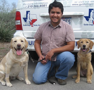 Rene Rios and dogs