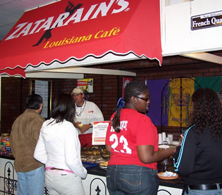 Zatarain food court venue