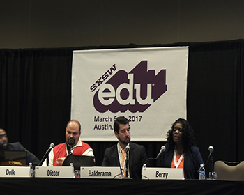 UTSA faculty and staff share research and insight about education at SXSWedu Conference