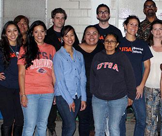 UTSA social work students helping West Side community stay healthy