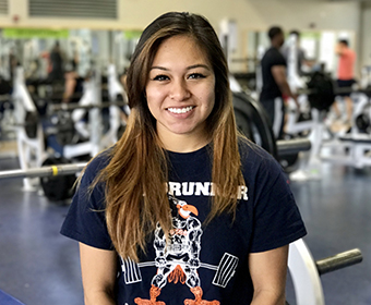 UTSA kinesiology major competes in strength challenges across the country, against top competitors.