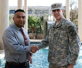 UTSA student veterans mentor next generation of America's military